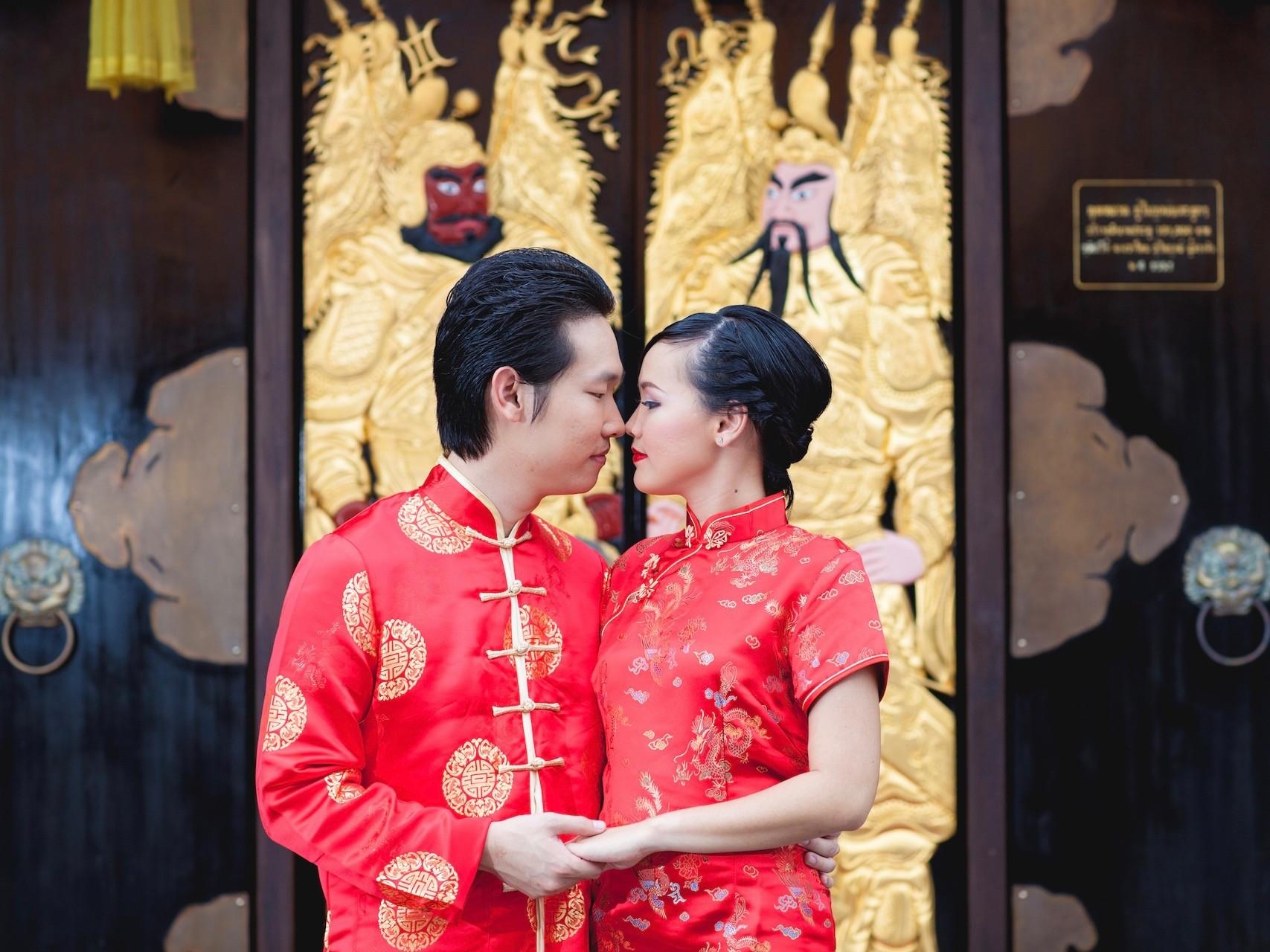 Hochzeitsrituale in China