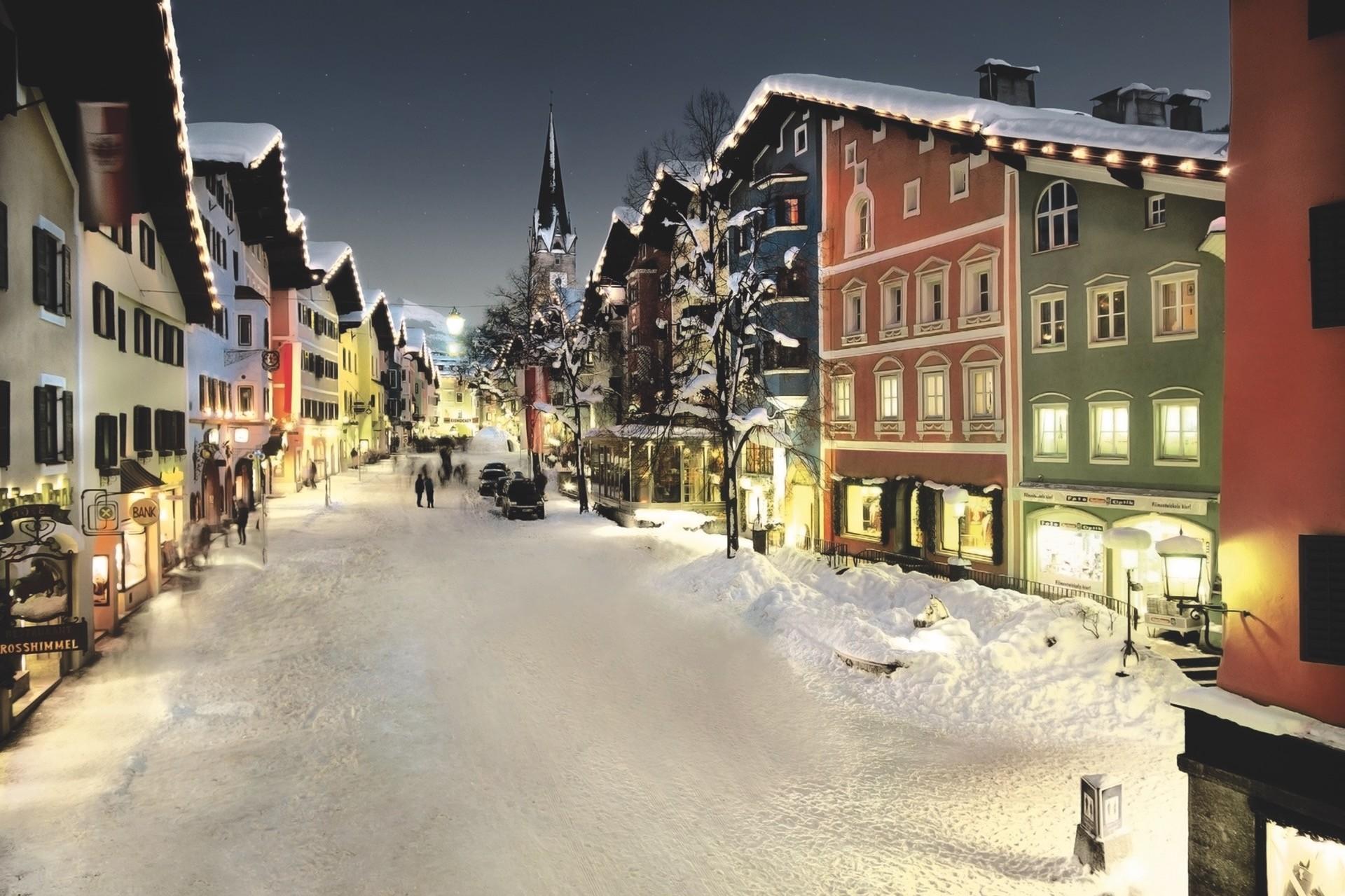 Winterliche Flitterwochen in Kitzbühel