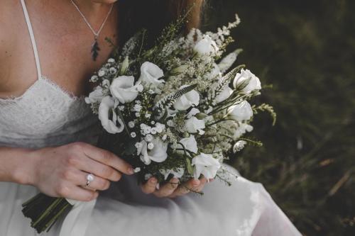 Blumenstrauß mit Ehrenpreis