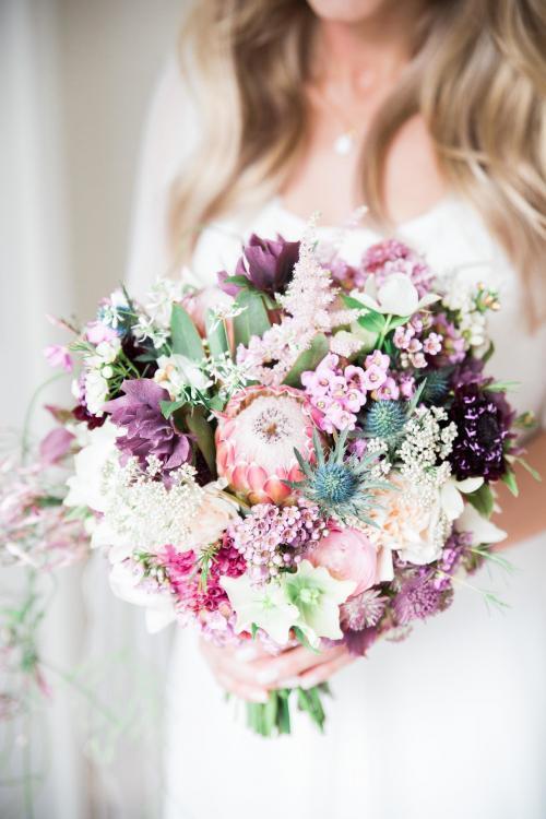 gemischter Brautstrauß