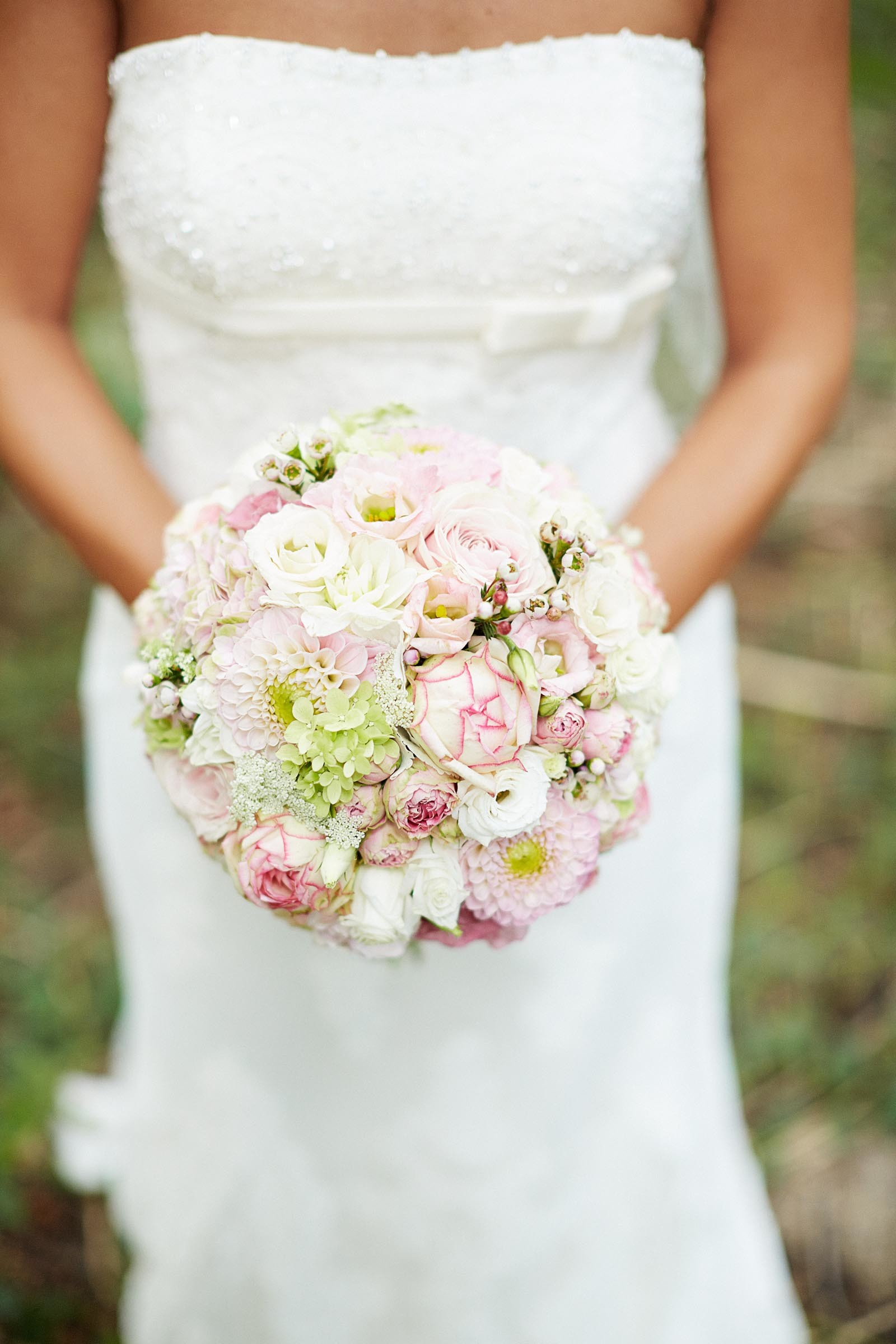 Brautkugel in Hellrosa