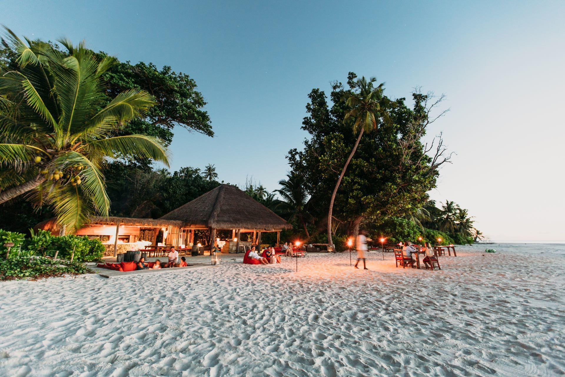 Flitterwochen auf North Island, Seychellen