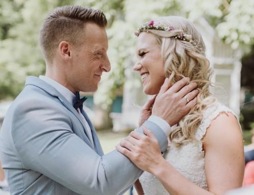 Romantische Hochzeit auf den zweiten Blick