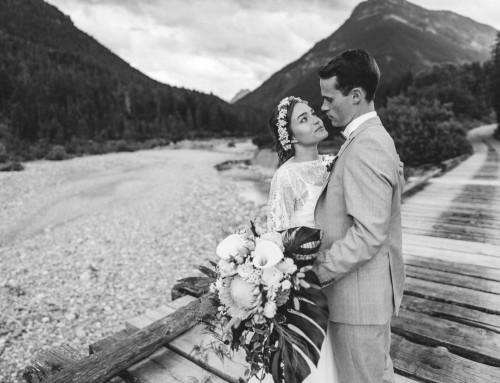 Style Shooting: Romantische Hochzeit in den Bergen
