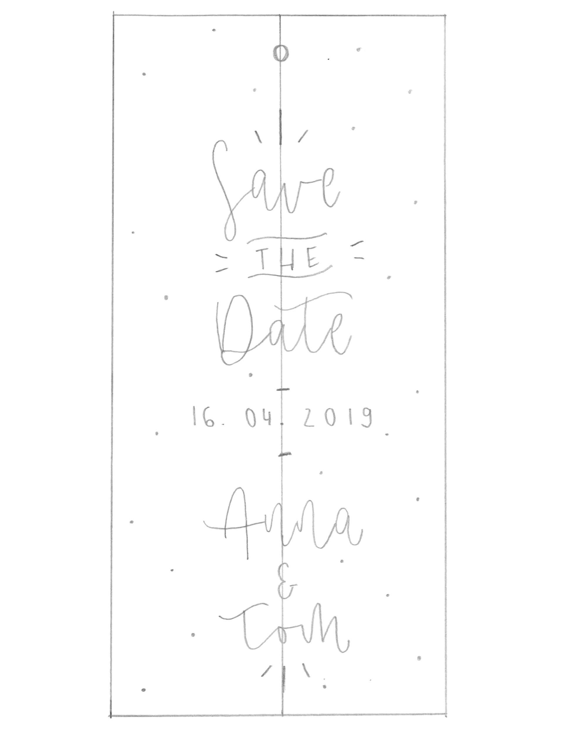 Save-the-Date-Karten selber basteln