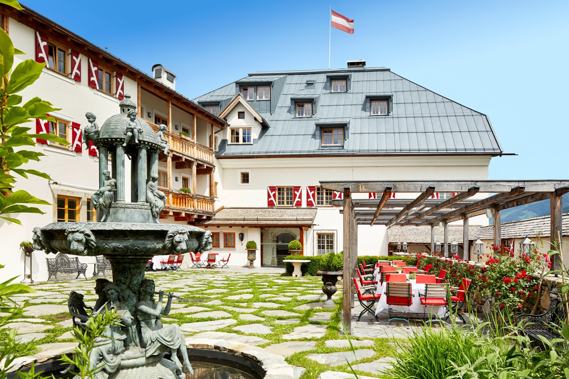 Hochzeitslocation Schloss Mittersill