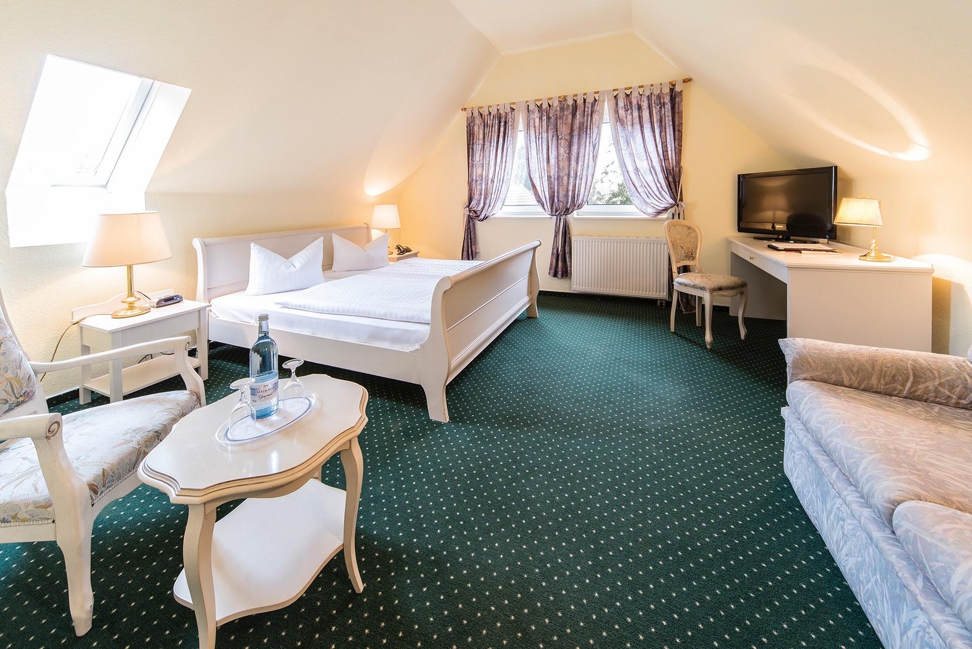 Seehotel Heidehof Doppelzimmer
