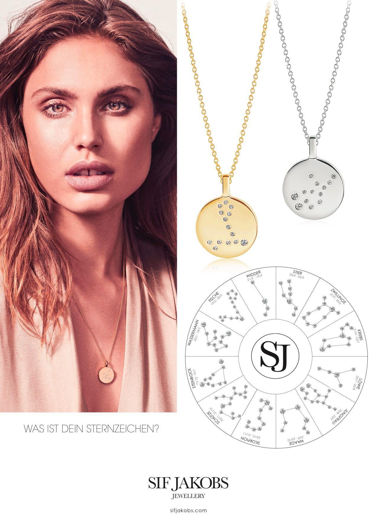 Sternzeichen-Kette von Sif Jakobs Jewellery