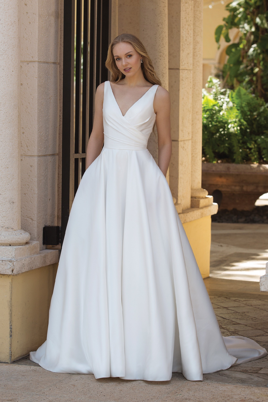 Brautkleid von Sincerity Bridal Modell 44080