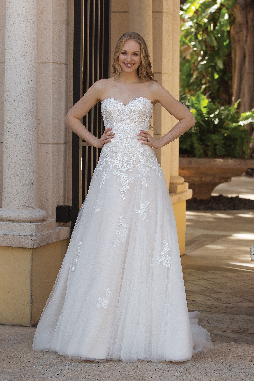 Brautkleid von Sincerity Bridal Modell 44095