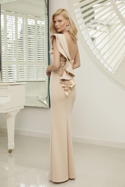 One-Shoulder-Kleid mit Rüschen und Sweetheart-Ausschnitt ...