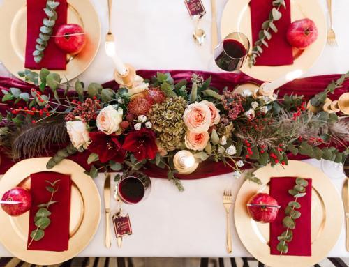 Stimmungsvolle Hochzeit im Herbst