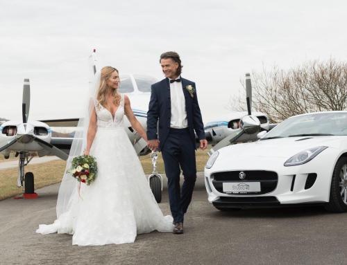 Style Shoot: Hochzeit auf dem Flugplatz