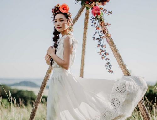 Traditionell-intime Hochzeitszeremonie