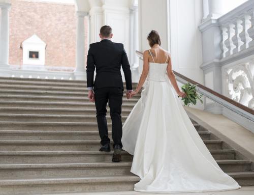 Wedding Style Shoot: Stilvolle Eleganz im Kloster