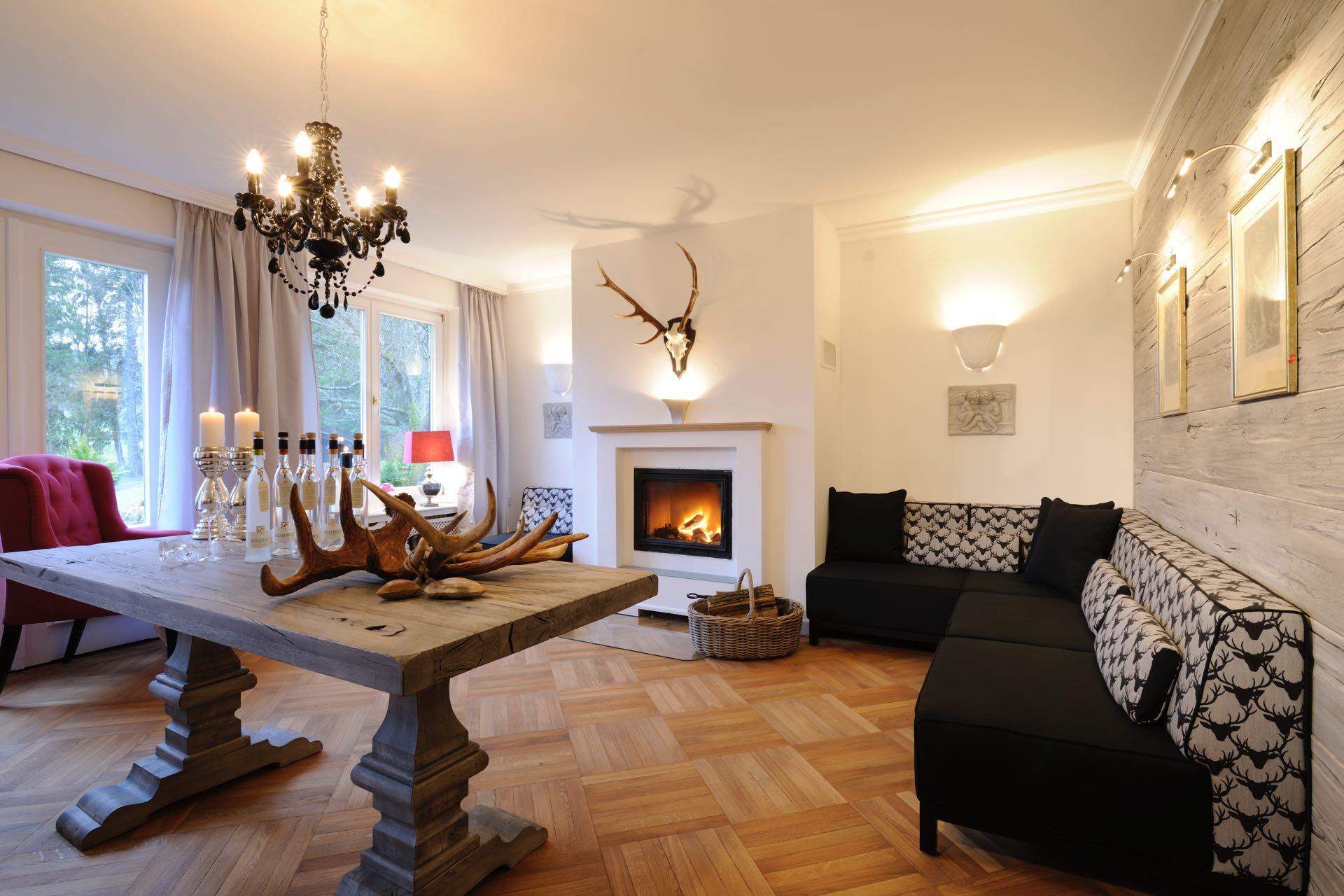 Lounge BRENNEREI im Boutique-Hotel Relais-Chalet Wilhelmy